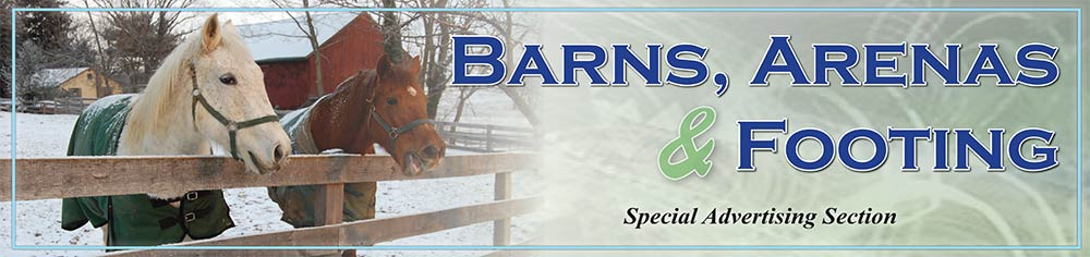 Barns, Arenas & Footing Featured Ads