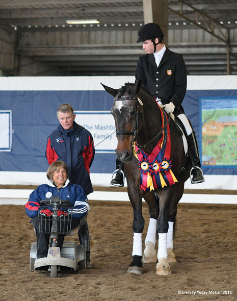 Chester County's Hope Hand Helps Develop Successful US Para Dressage Team