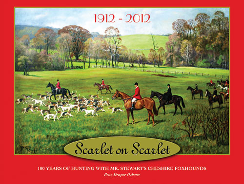 Scarlet on Scarlet Celebrates Cheshire Hunt's 100th Anniversary