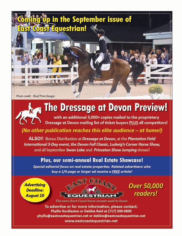 East Coast Equestrian Newspaper PA Horse News Mid-Atlantic Equestrian